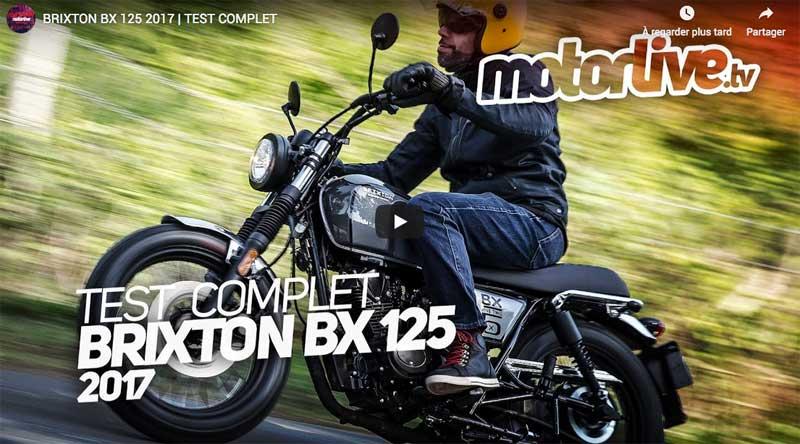 Brixton - Vidéo sur BX 125