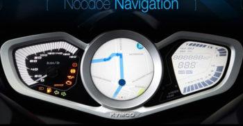 Kymco navigation noodoe