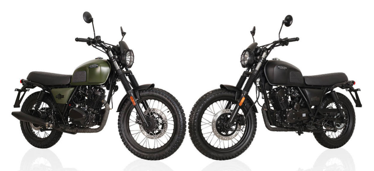 Brixton - Motos BX 125 X Scrambler