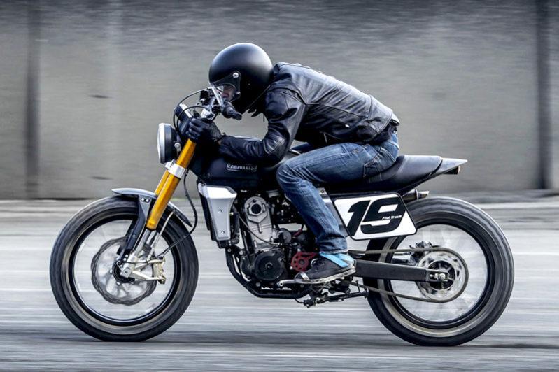Fantic Caballero - Motos Flat Track 125cc, 250cc, 500cc