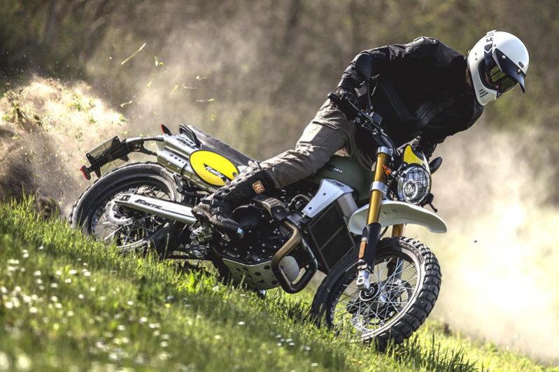 Fantic Caballero - Motos Rally 500, tout terrain 500cc