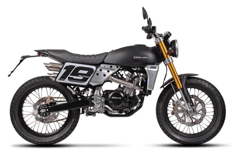 Fantic Caballero - Motos Flat Track 250cc