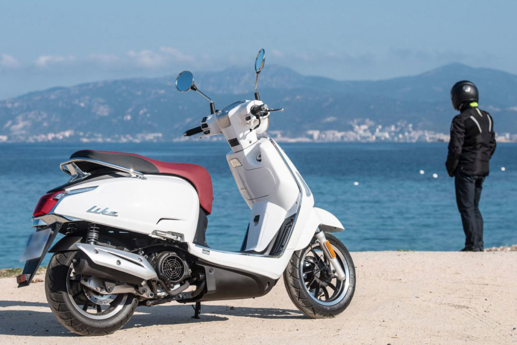 Kymco-Scooters 50cc