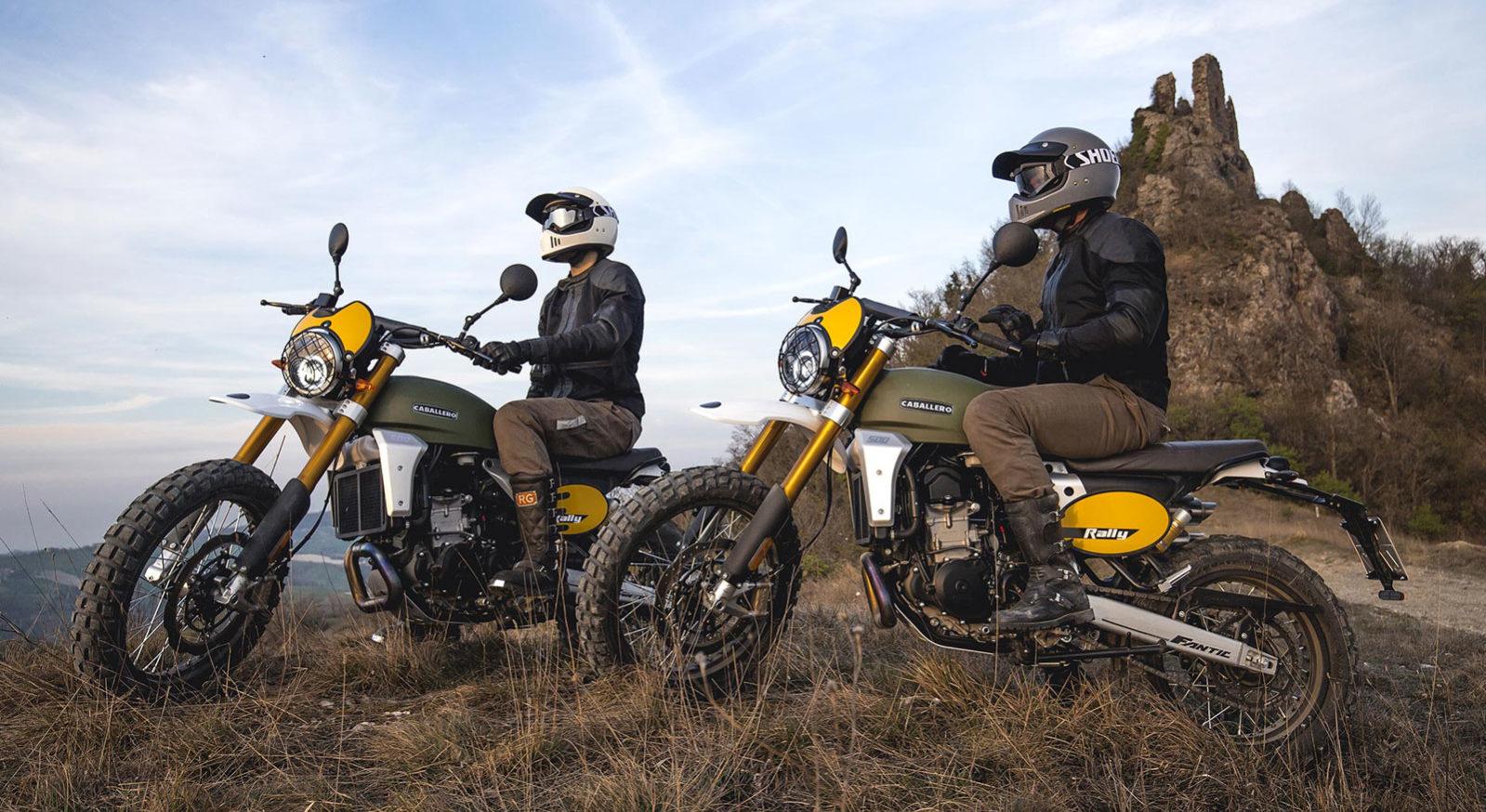 Fantic Caballero - Motos Rally 500cc tout terrain