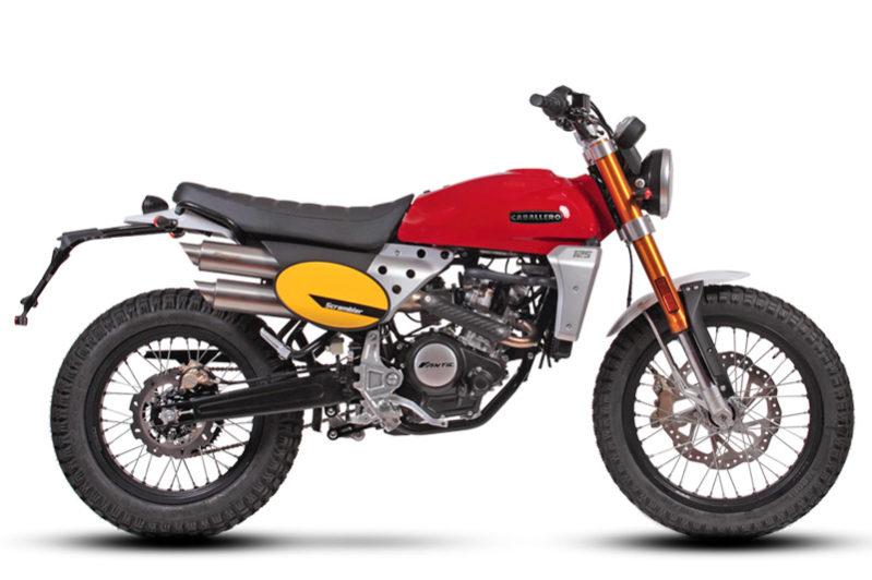 Fantic Caballero - Motos Scrambler 125cc