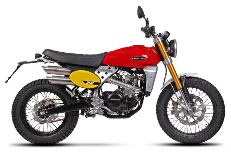 Fantic Caballero - Motos Scrambler 250cc