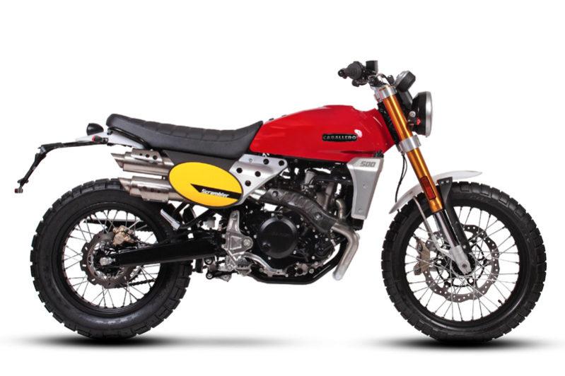 Fantic Caballero - Motos Scrambler 500cc