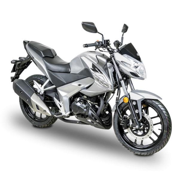 Kymco- Motos Visar 125cc gris