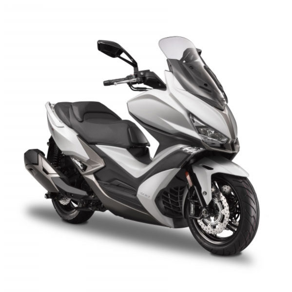 Kymco - Scooters XCITING 400i blanc