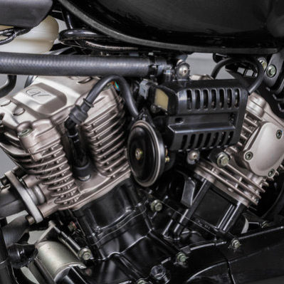 Hyosung - Motos bobber 125cc, moteur