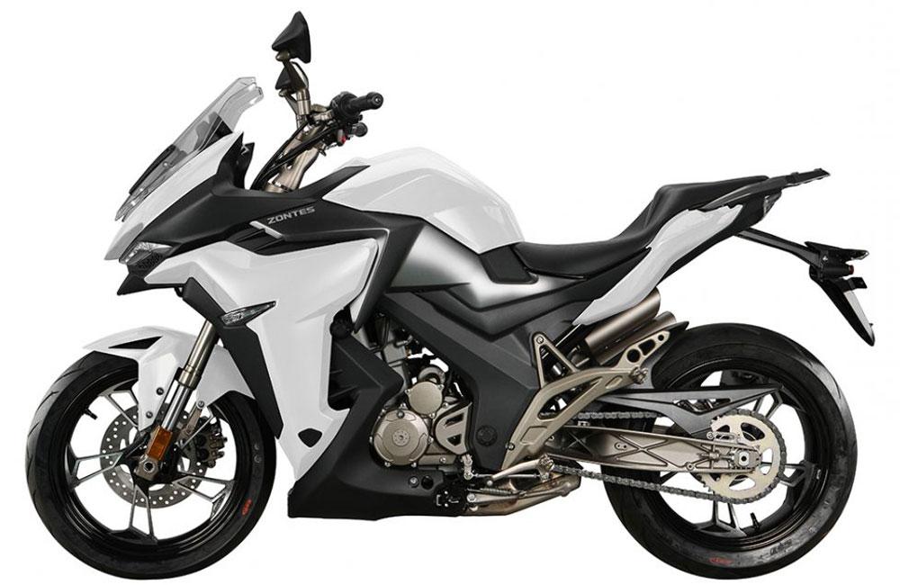 Zontes - Motos 310X blanc