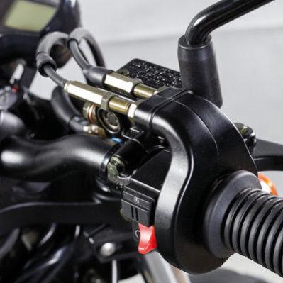 Hyosung - Motos bobber 125cc, commandes