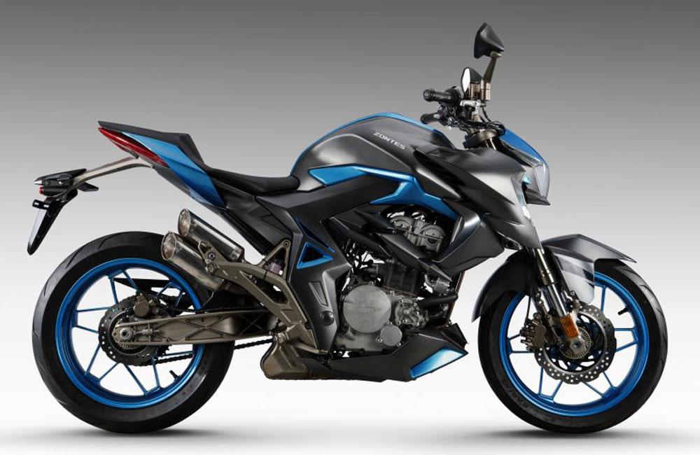 Zontes - Motos 310R bleu