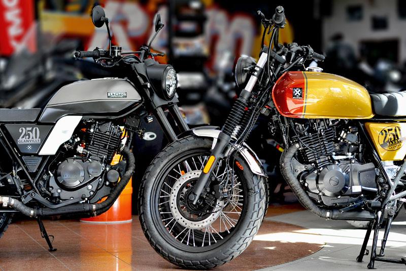 Brixton - motos 125cc et 250cc
