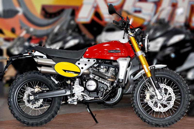 Fantic Caballero - motos - toute la gamme Fantic