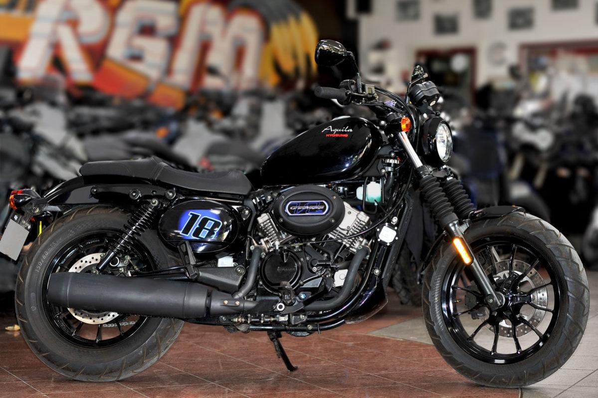 Hyosung - Motos Bobber Aquila 125cc