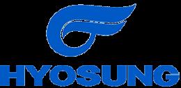 Logo Hyosung - Motos Bobber 125cc