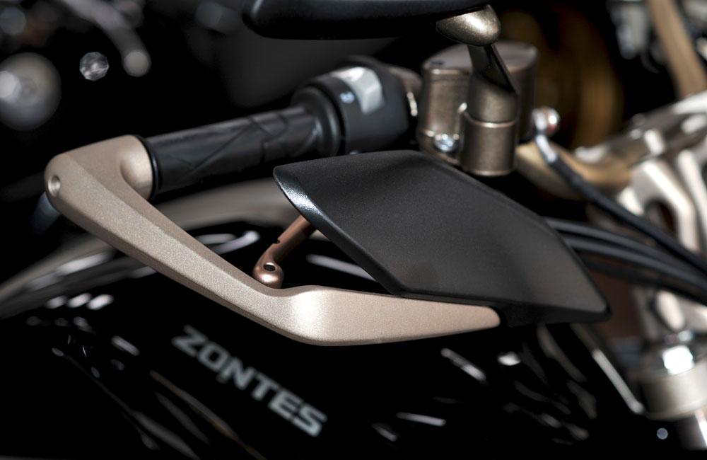 Zontes - Motos 310T noir - guidon