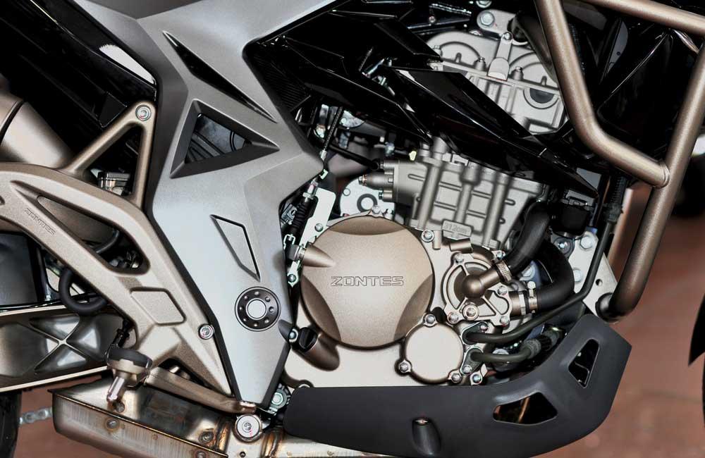 Zontes - Motos 310T noir - moteur
