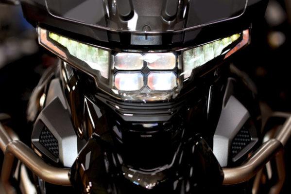 Zontes - motos 310T, phares