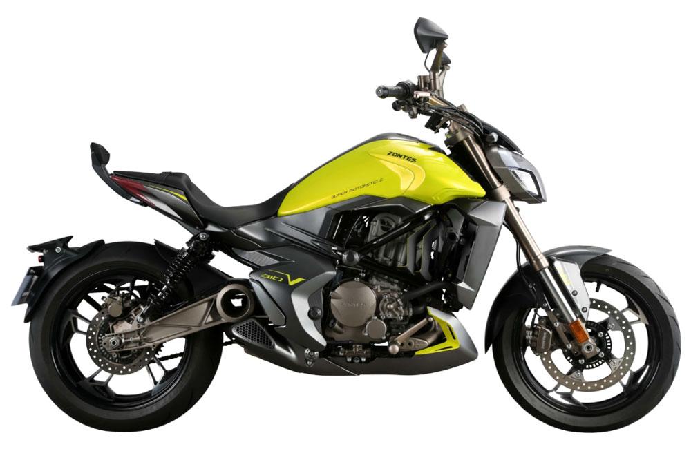 Zontes - Motos 310V jaune