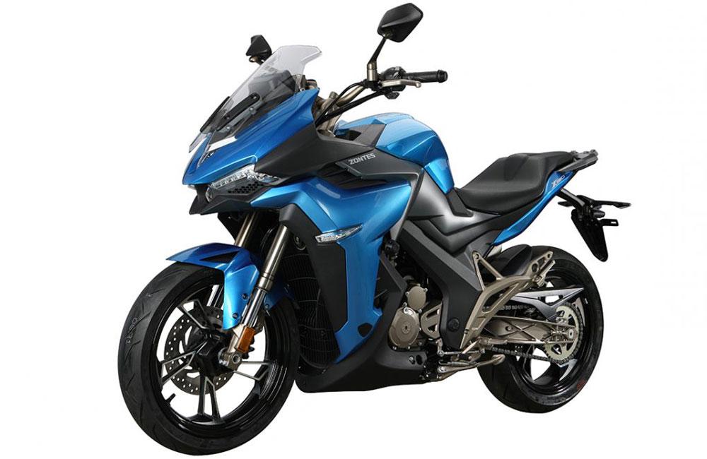 Zontes - Motos 310X bleu