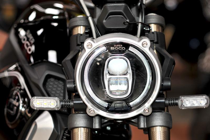 Moto électrique Super Soco