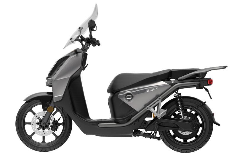 Super Soco CPX gris, scooter électrique