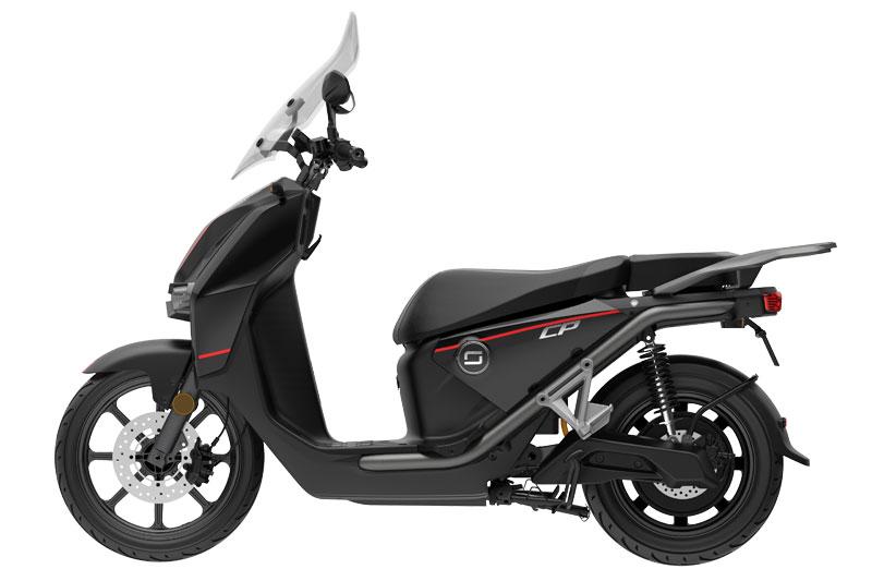 Super Soco CPX noir, scooter électrique