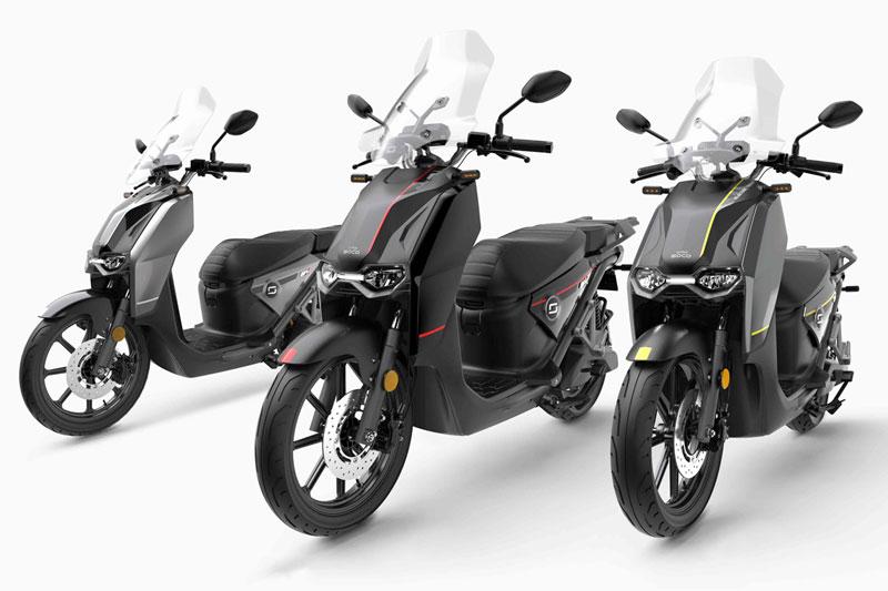 Super Soco CPX, scooter électrique