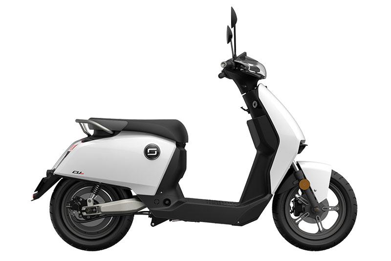 Super Soco CUX blanc, scooter électrique