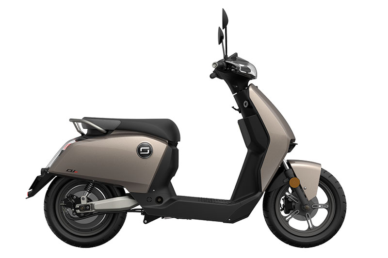 Super Soco CUX bronze, scooter électrique