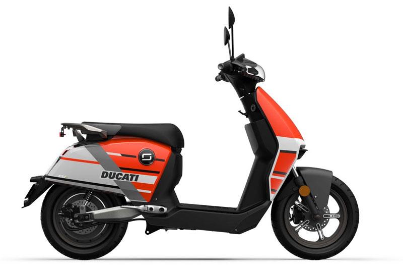 Super Soco - Ducati, CUX scooter électrique