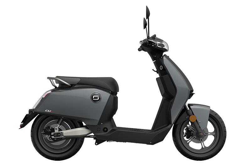 Super Soco CUX noir, scooter électrique