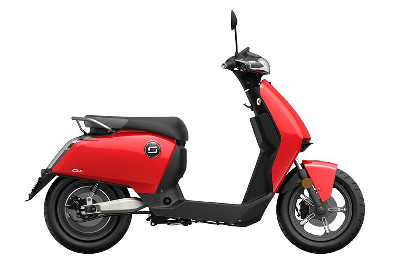 Super Soco CUX rouge, scooter électrique