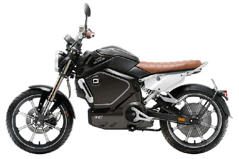 Super Soco TC noir, scooter électrique