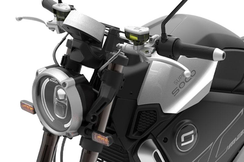 Super Soco TCmax, scooter électrique