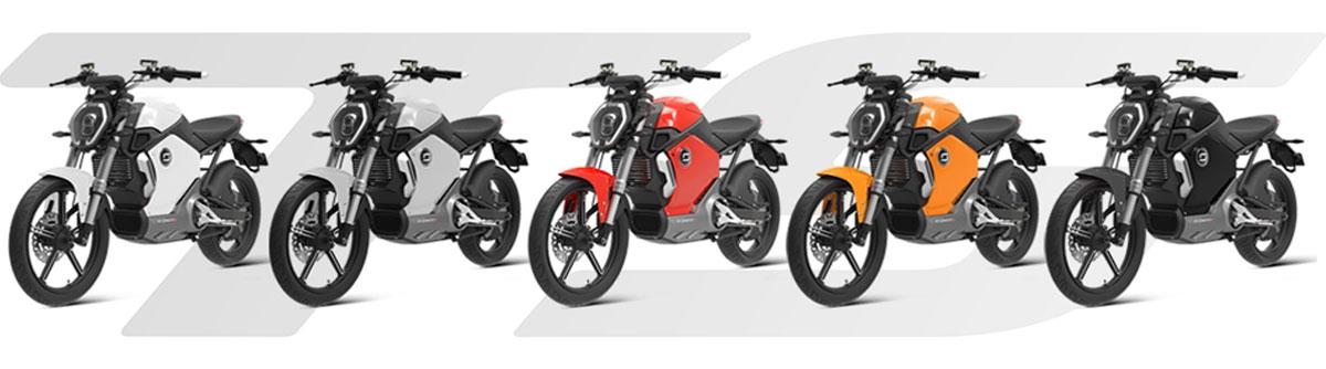 Super Soco TS, scooters électriques