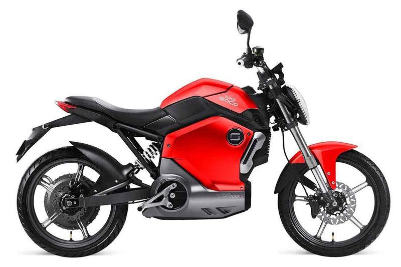 Super Soco TS rouge, scooters électriques