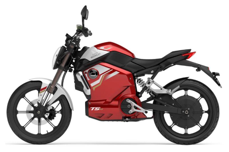 Super Soco TSX rouge, scooter électrique