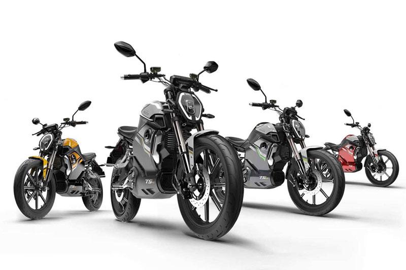 Super Soco TSX, scooter électrique
