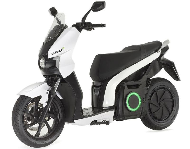 Silence S01-scooter électrique blanc
