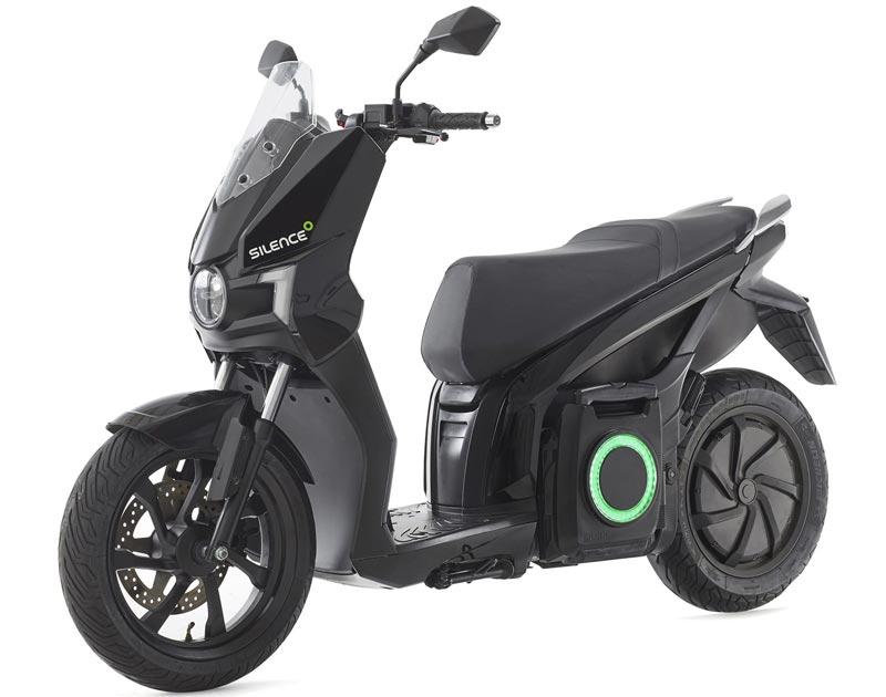 Silence S01-scooter électrique noir