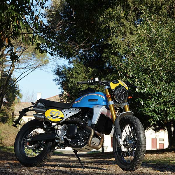 Fantic Cabarello Anniversary 500 bleu