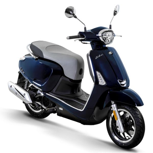 Kymco Scooter Like 50 bleu