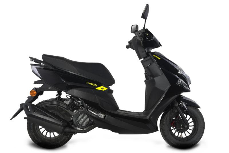 Motron Scooter 50 Breezy noir