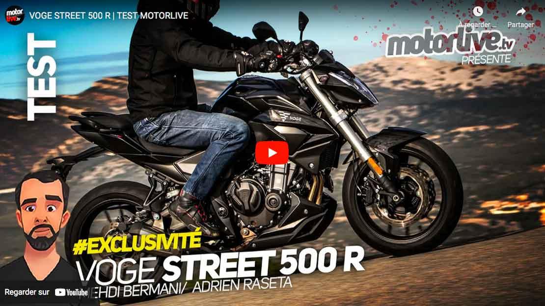 Motorlive essai 500 R